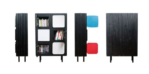 Six Doors by Atelier 4|5 Do-It-Yourself Ideas Recycled Furniture