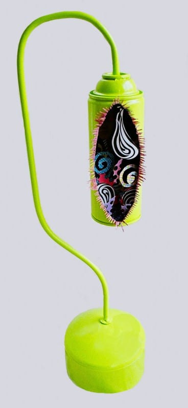 Spray Can Lamps Kanterns Lamps & Lights Recycled Art
