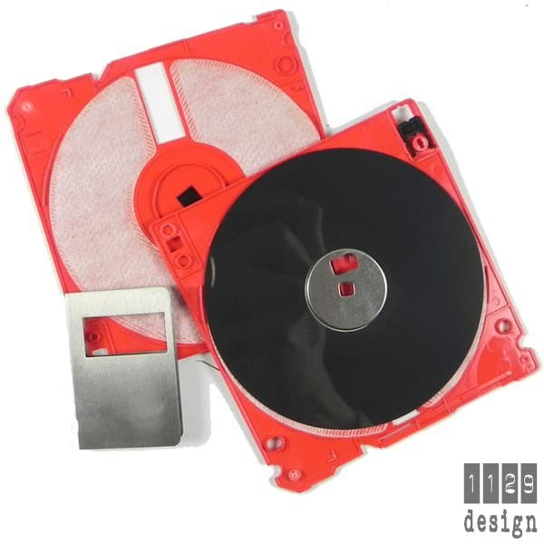 Floppy Disk DIY Earrings Accessories Recycled Electronic Waste Upcycled Jewelry Ideas