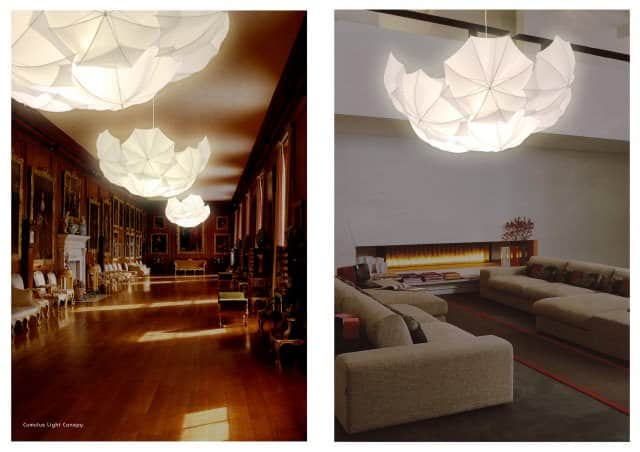 Umbrellight: Umbrella Lampshades