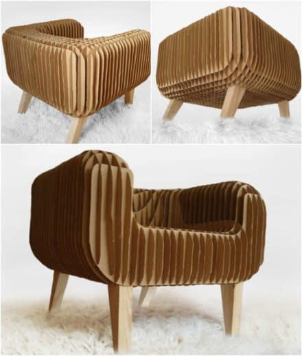 Cardboard Armchair