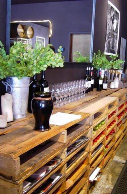 Pallet Shelving Bar