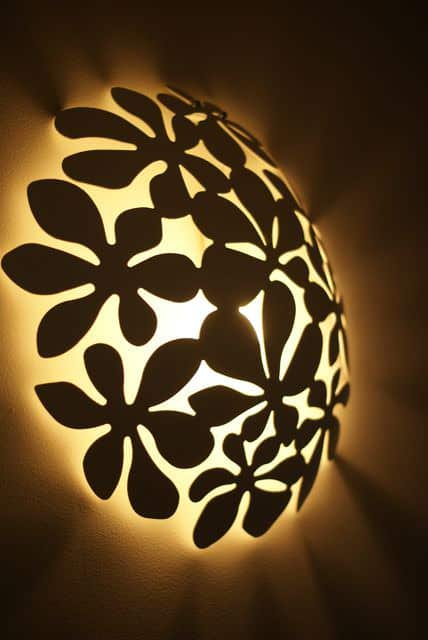 Ikea Fruitbowl Lamp Do-It-Yourself Ideas Recycling Metal