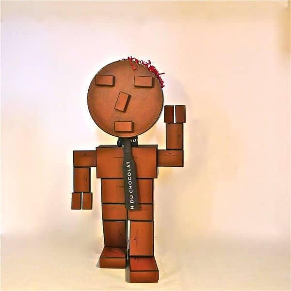 Chocorobox Recycled Cardboard