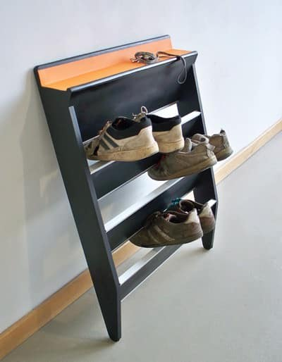 Shoe Rack Footman Recycled Furniture