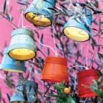 Wooden Pots Garland
