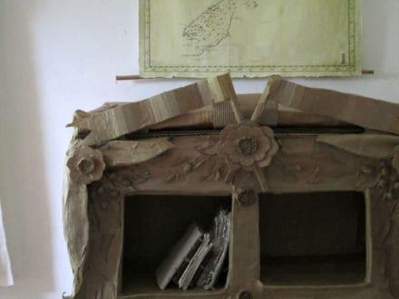 Cardboard Curiosity Cabinet