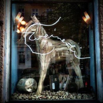 Wooden horse