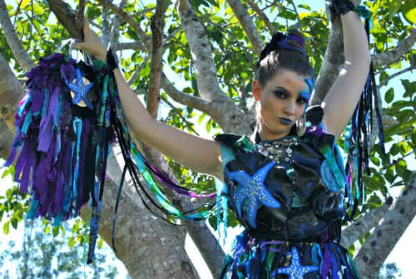 Under the Sea Wearable Art Costume Clothing Recycled Art