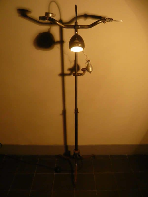 Gaston Handlebars Lamps & Lights Upcycled Bicycle Parts