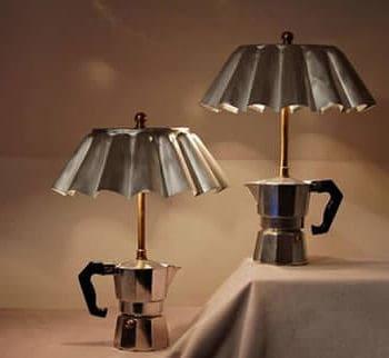 Coffee maker lamp