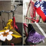 Upcycled Bicycle Saddle