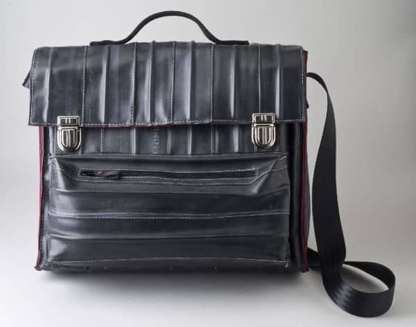 Krejci Bags : You See It Black, but It's Green ! Accessories Recycled Rubber