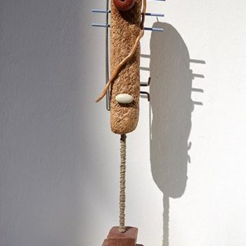 Recycle Art using everyday and found objects with their own stories.