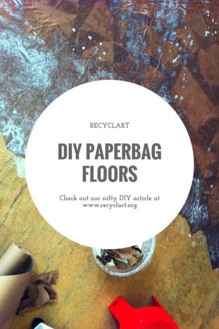 Diy: Paper Bags Floor