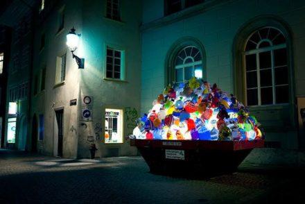 Illuminated Garbage Bags