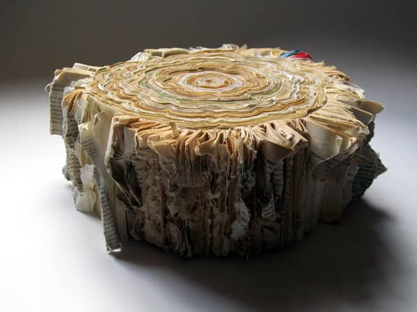Illegal Logging Recycled Art Recycling Paper & Books