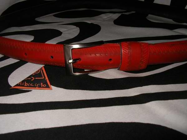 Da Copertone Di Bici a ….cintura! Accessories Recycled Rubber