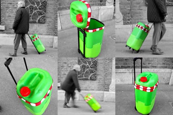Recyclart September Contest Winner: The Plastic Drum Trolley Recycled Plastic
