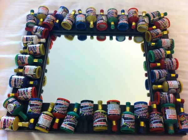 Popper Mirror Accessories Recycled Plastic