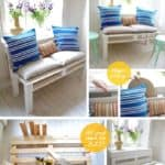 Diy : Pallet Sofa With Storage