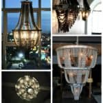 Facaro: Recycled Bicycle Chandeliers