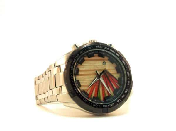 Recycled Skateboard Watches Accessories Recycled Sports Equipment