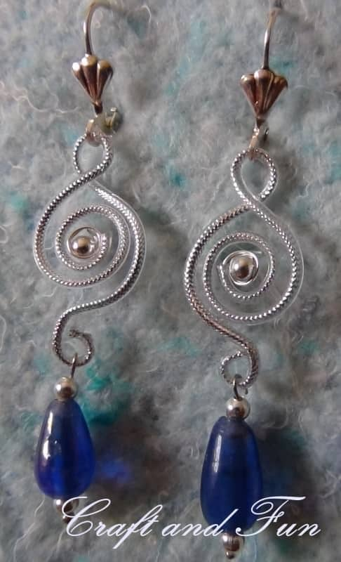 Recycled Headset Cable Into Earrings Upcycled Jewelry Ideas