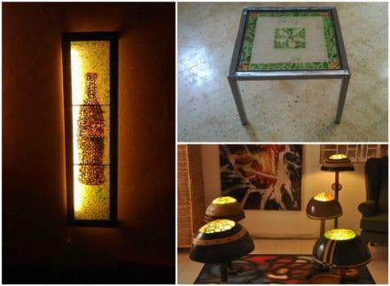 Sea Glass Art & Decoration