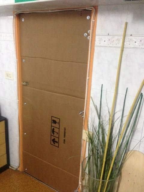 Cardboard Door Do-It-Yourself Ideas Recycled Cardboard