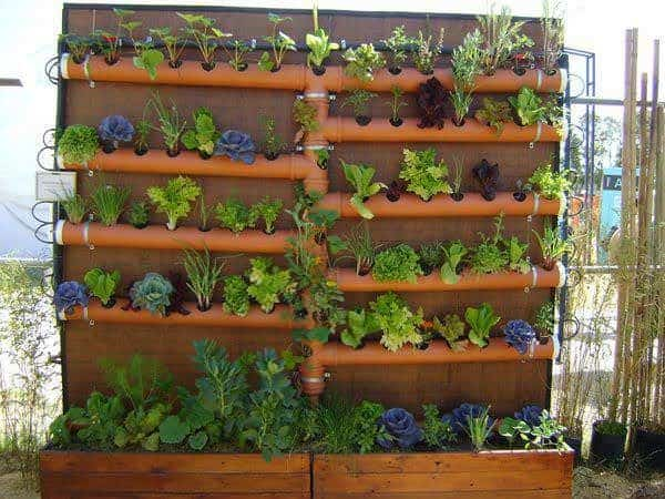 Pipe Planters Recycled Plastic