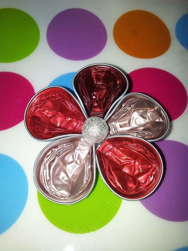 Nespresso Capsules Into Flower Shape Brooches Accessories