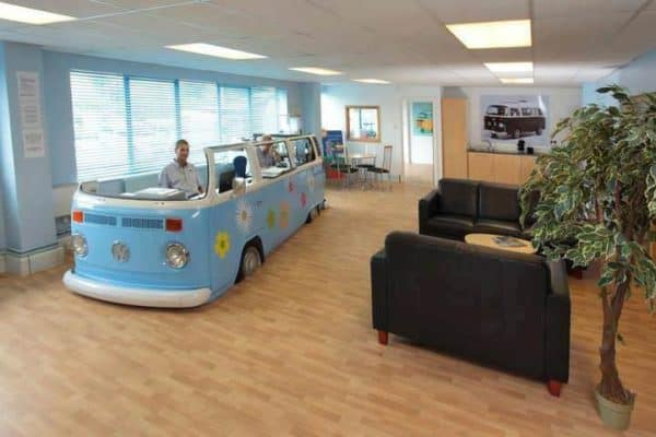 Volkswagen Van –> Office Home Improvement