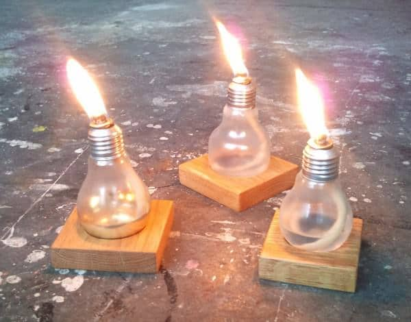 Bulb-light Do-It-Yourself Ideas Lamps & Lights