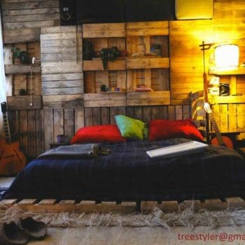 Pallet As Wall Decoration