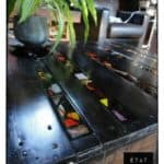 Black Pallets Coffee Table