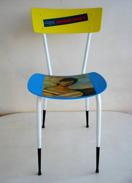 Recycled Chair Ragazza Recycled Furniture