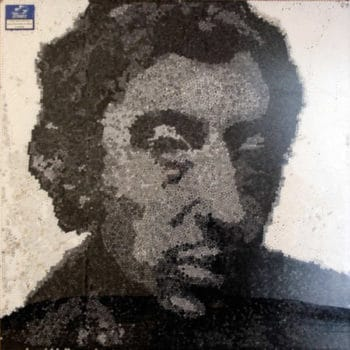 Serge Gainsbourg Portrait Made Of 23,000 Cigarette Filters