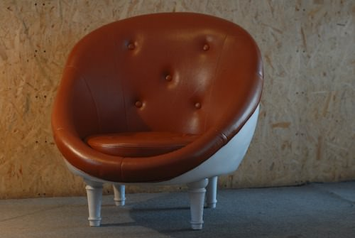 Telephone Shell Chair Recycled Furniture