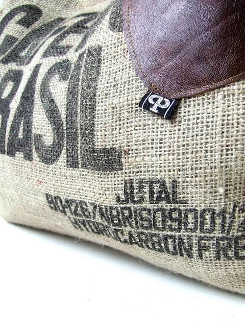 Recycled Coffee Sack Bag Accessories Clothing