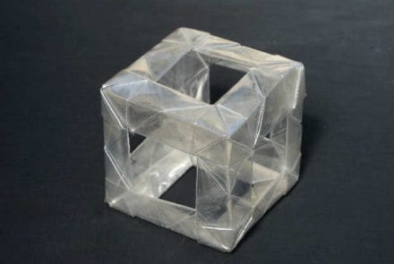 Plastic Bottle Origami