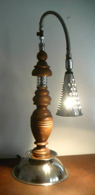 Up-cycled Lamps Lamps & Lights