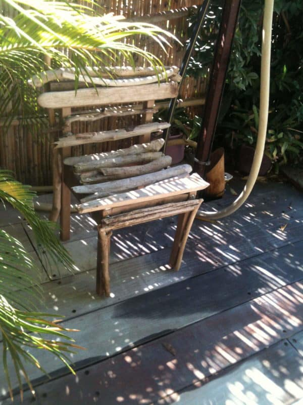 Driftwood Chair Recycled Furniture Wood & Organic
