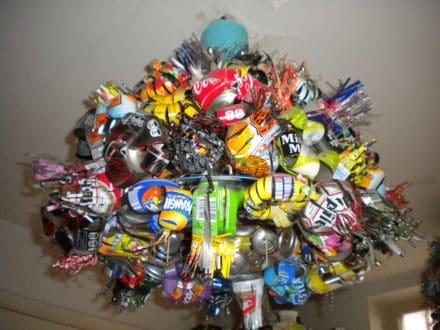 Lustre Bouquet of Cans