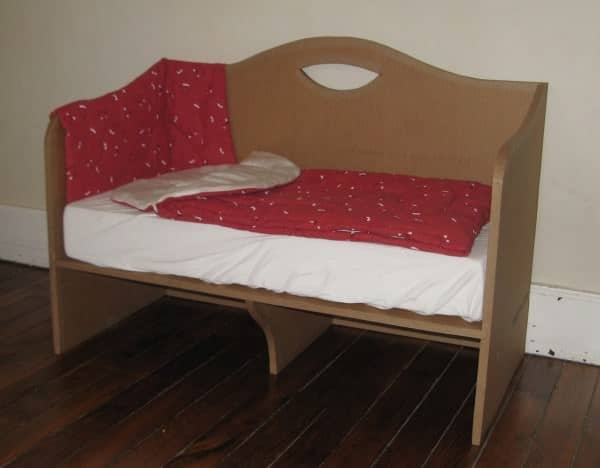 Cardboard Co Sleeping Bed Recyclart