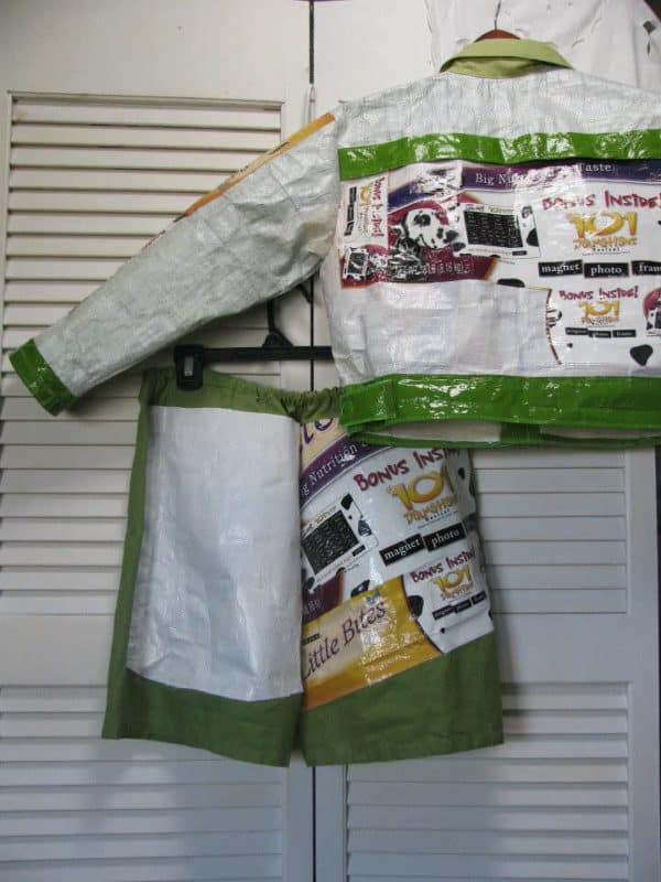 Upcycled Pet Food Bags Clothing Do-It-Yourself Ideas