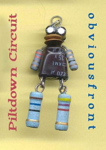 Obviousfront Robots Recycled Art Recycled Electronic Waste