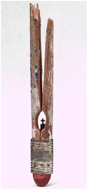 Pencil Miniature Art Recycled Art