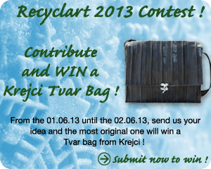 Recyclart January Contest!