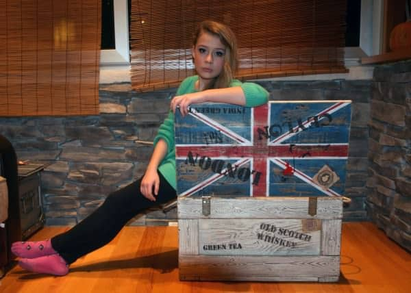Union Jack Box Recycled Furniture Wood & Organic